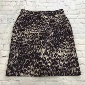 JCrew Women's Wool Grey Skirt